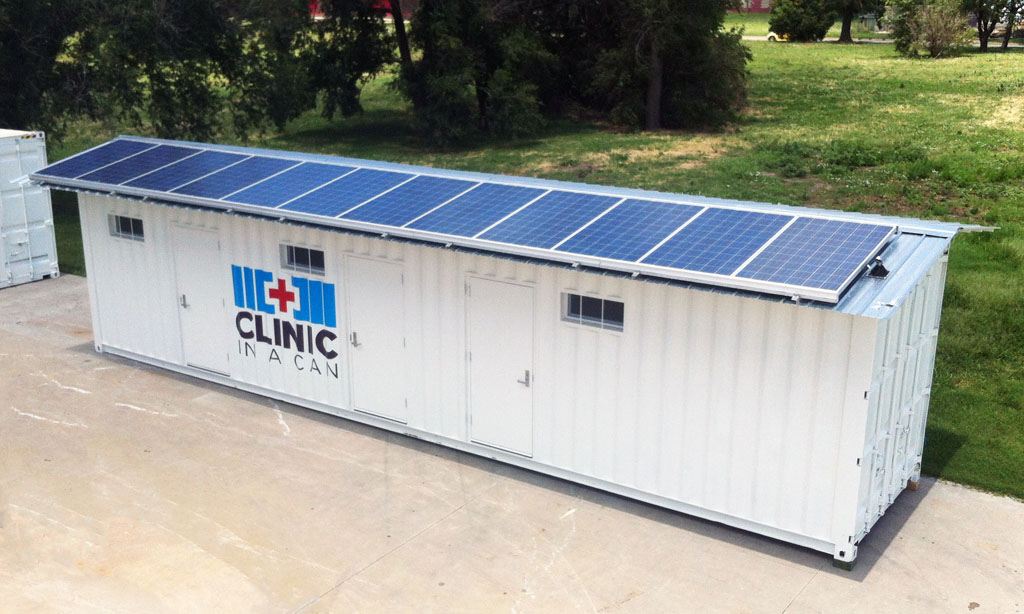 Solar Powered Clinic In A Can